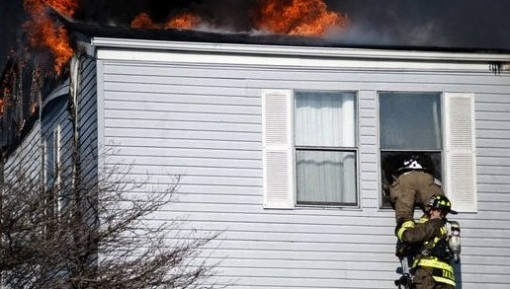 Heroic act by Michigan's firefighters