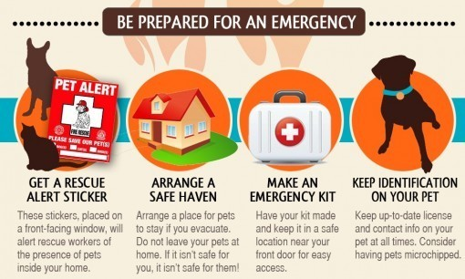 Be prepared for an emergency