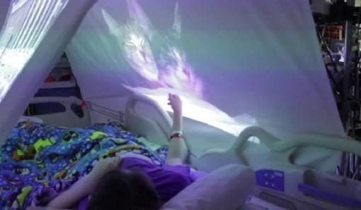 Maga's purring tent