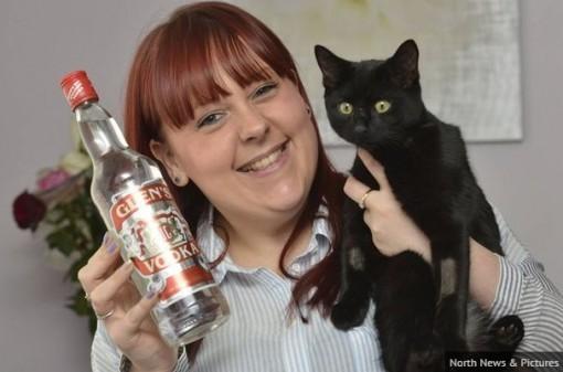Missey saved by vodka drip!