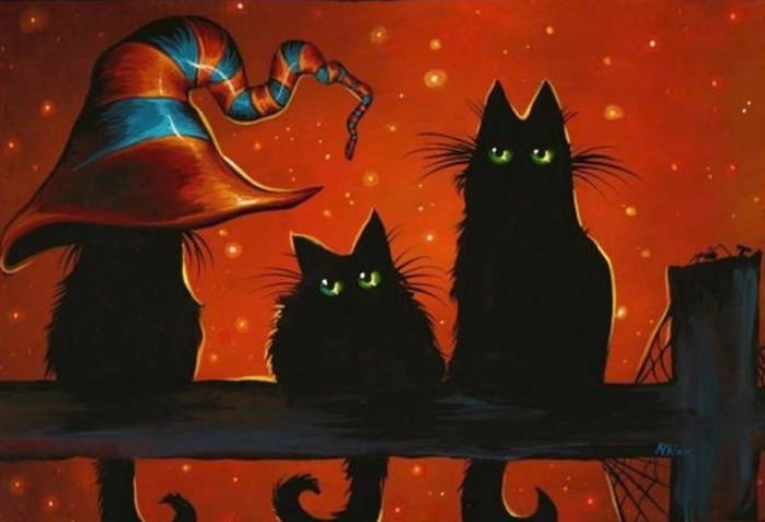 Why Are Black Cats A Halloween Symbol?