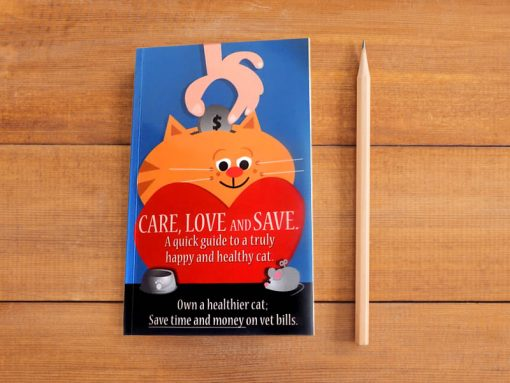 Care, Love and Save - The ultimate quick guide to responsible cat adoption.