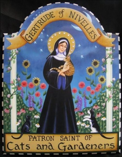 Saint Gertrude of Nivelles